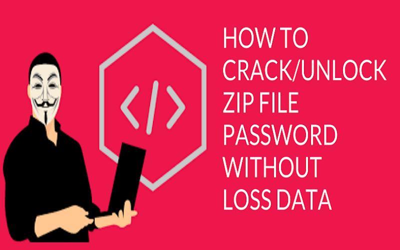 آموزش شکستن پسورد فایل ZIP و RAR به صورت تصویری