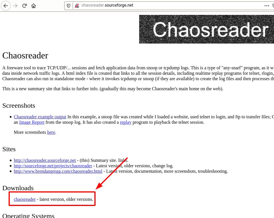دانلود chaosreader
