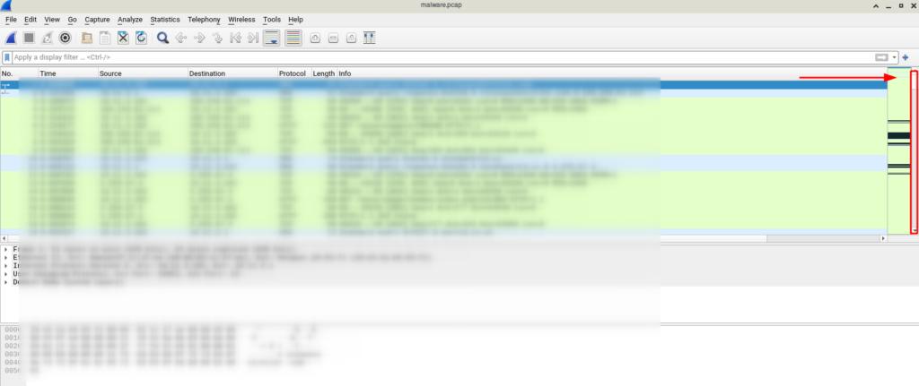 ارتباطات شبکه در فایل pcap
