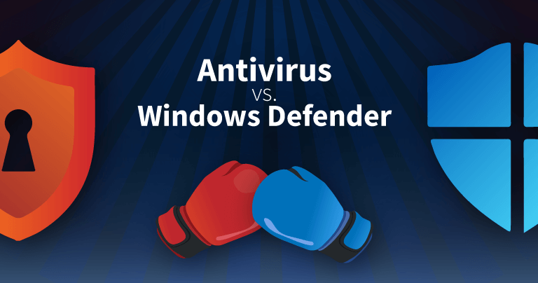 windows defender vs antivirus